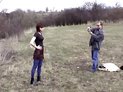 non-professional german porn with pissing outside