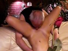 grandpapa with a slut