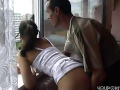 father anal copulates step-daughter